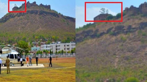 किले के ऊपर ॐ की आकृति देख लोग बोले- चमत्कार!, बाद में सच्चाई निकली कुछ और