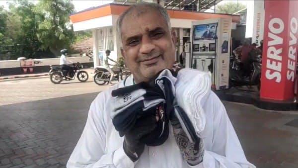 कोरोना की मार : जयपुर के गौरव टावर का बिजनेसमैन पेट्रोल पंप पर जुराब बेचने को मजबूर, VIDEO