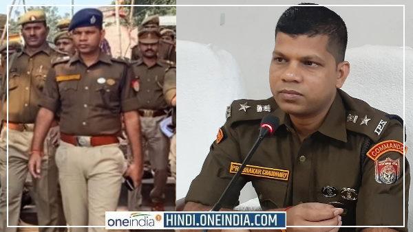 Prabhakar Chaudhary IPS:मुरादाबाद से ट्रांसफर के बाद SSP प्रभाकर चौधरी ने सिंघम स्टाइल में मेरठ में मारी एंट्री