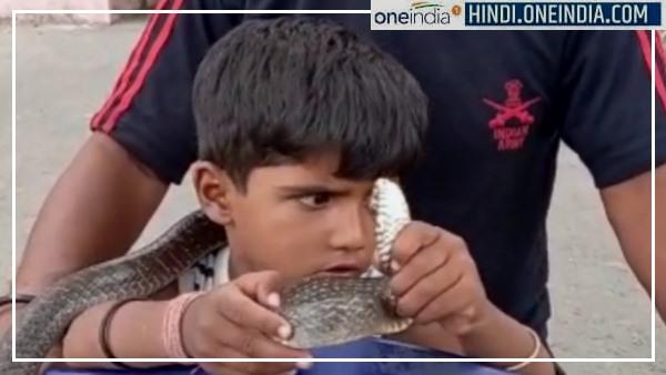 इसे भी पढ़ें- Prince Salvi Snake Catcher : 4 साल का यह बच्चा पकड़ चुका है सौ जहरीले सांप, हादसे ने खत्म किया डर