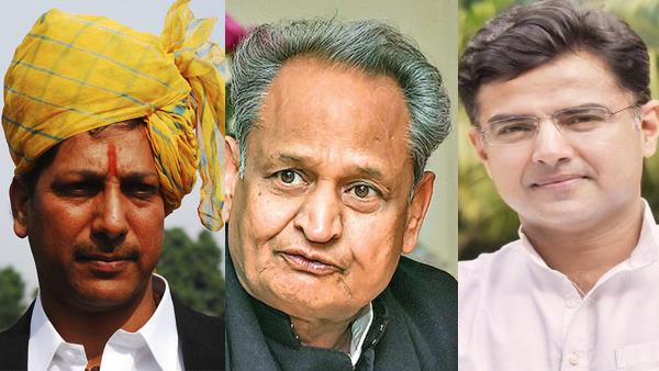 राजस्थान सियासी संकट पार्ट-2 : राजेंद्र गुढ़ा बोले-'हमने गहलोत सरकार को पहली पुण्यतिथि मनाने से बचाया'<br/>