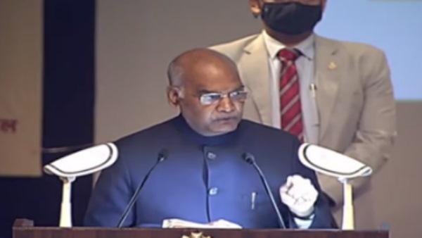 राष्ट्रपति कोविंद ने लखनऊ में अंबेडकर स्मारक का किया शिलान्यास, कही ये बातें