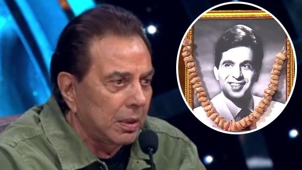 Indian Idol के सेट पर रो पड़े धर्मेंद्र, बोले- मेरी जान थे दिलीप साहब, पहली फिल्म में देखा तो.