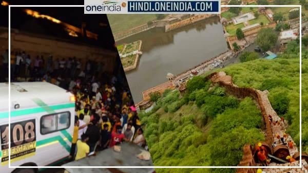 JAIPUR : आमेर में वॉच टावर पर आकाशीय बिजली गिरने से 11 लोगों की मौत हुई या 16 की, जानिए सच्चाई क्या है?