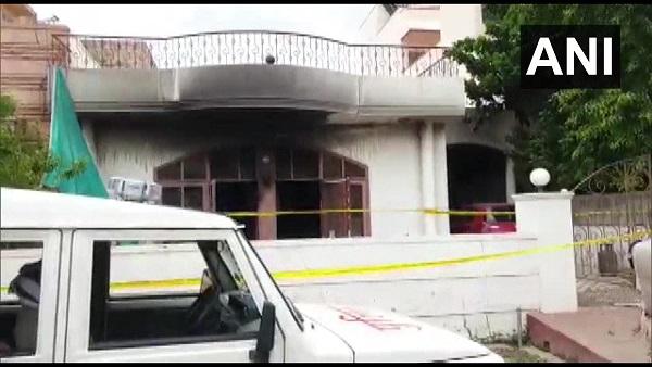 राजस्थान के जोधपुर में घर के भीतर लगी आग, 4 लोगों की मौत