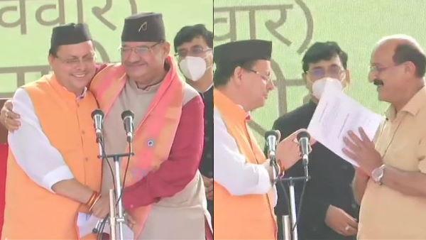 उत्तराखंड: पुष्कर सिंह धामी के साथ 11 मंत्रियों ने ली शपथ, ये विधायक बने मिनिस्टर