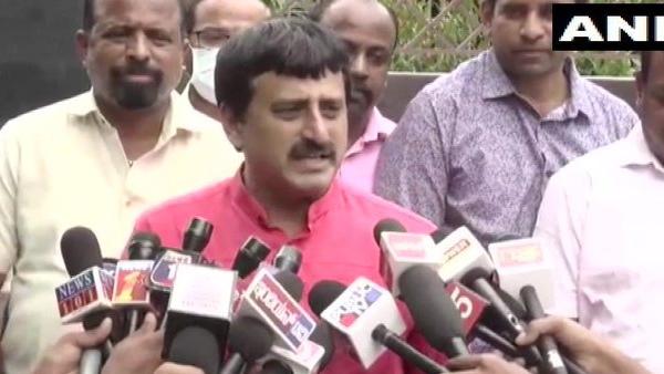 कर्नाटक के मंत्री ने BS येदियुरप्पा पर बोला हमला, CM के बेटे विजयेंद्र को कहा- 'हाथी का बच्चा'