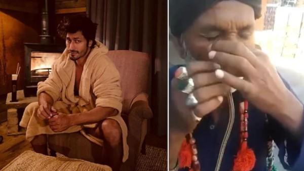 शख्स ने नाक से डालकर मुंह से निकाला जिंदा सांप, अभिनेता विद्युत जामवाल ने शेयर किया वीडियो