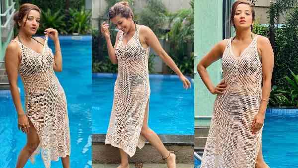 ये भी पढ़ें:- स्वीमिंगपूल के किनारे ट्रांसपेरेंट ड्रेस में मोनालिसा ने दिखाईं Bold अदाएं, फोटोज देखकर हो जाएंगे दीवाने