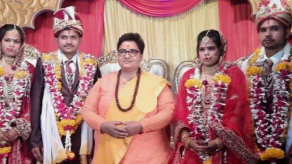 साध्वी प्रज्ञा सिंह ठाकुर के बंगले से उठी दो बहनों की डोली, पिता बेरोजगार हुए तो सांसद ने करवाई शादी