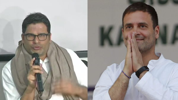 राहुल गांधी से मिलने पहुंचे चुनावी रणनीतिकार प्रशांत किशोर