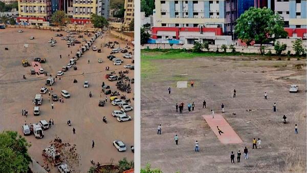 15 माह बाद राजकोट में कोई कोरोना मरीज नहीं, जहां एंबुलेंस की लाइन लगी थीं, अब बच्चे क्रिकेट खेल रहे