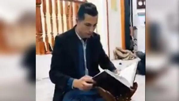 Fact Check: क्या वायरल वीडियो में फुटबॉलर रोनाल्डो मस्जिद में कुरान पढ़ रहे हैं? जानें सच
