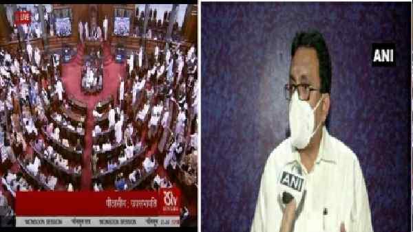 इसे भी पढ़ें-TMC सांसद शांतनु सेन राज्यसभा से सस्पेंड, सदन में आईटी मंत्री से पेपर छीनकर फाड़ा था