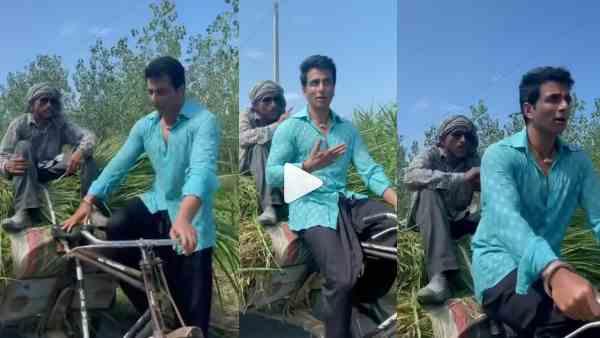 ये भी पढ़ें:- रिक्शा चलाते हुए Sonu Sood ने वीडियो किया शेयर, दूधवाले से डिस्काउंट मांगते हुए आए नजर