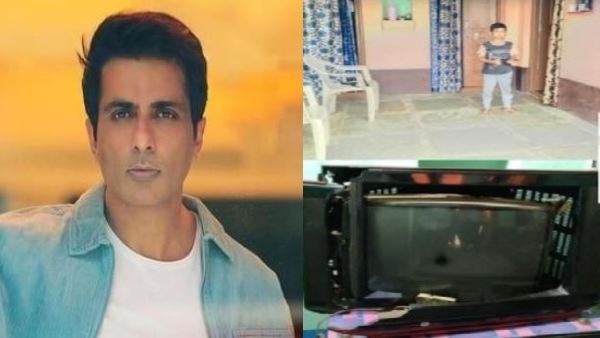 Sonu Sood के लिए 7 साल के बच्चे की दिवानगी, फिल्म में हीरो से मार खाते देखा तो तोड़ा TV