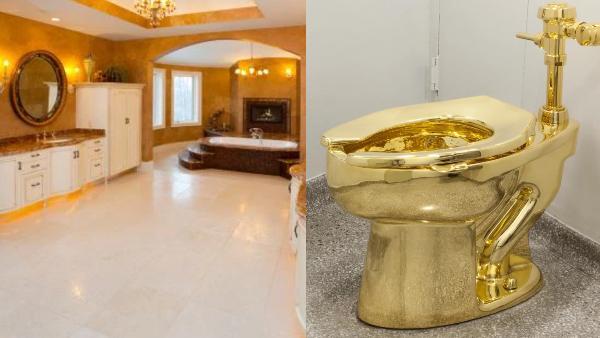 सरकारी अधिकारी के घर में मिला सोने का टॉयलेट, महल जैसा था अंदर का नजारा