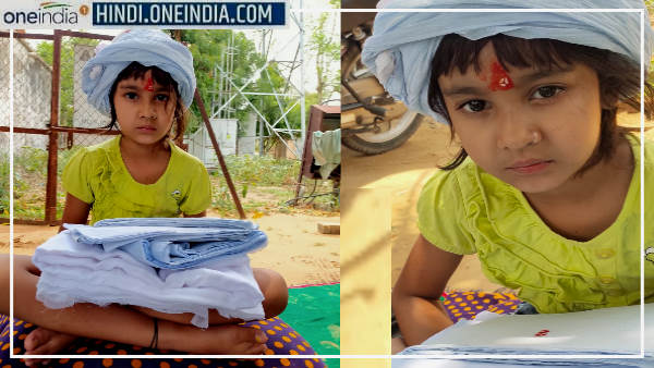 Rajasthan : पिता की मौत के बाद 8 साल की बेटी के सिर पर बांधी पगड़ी, कोई नहीं रोक पाया आंसू