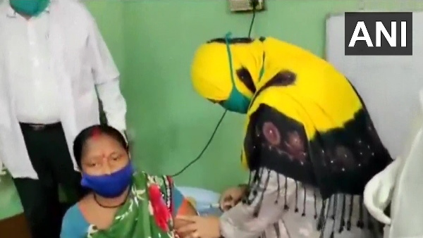 यह पढ़ें: बंगाल: महिला को वैक्सीन लगाते TMC नेता की तस्वीरें वायरल, बवाल होने पर दी सफाई