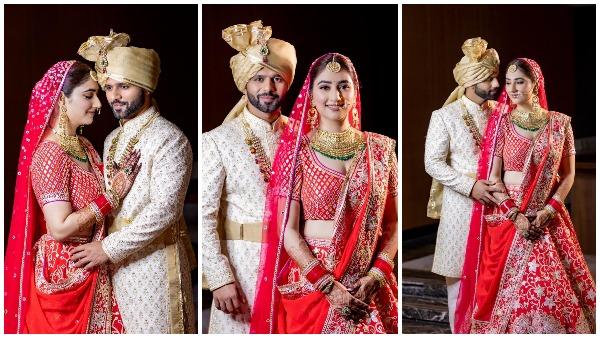 शादी के बंधन में बंधे राहुल वैद्य-दिशा परमार, देखें, बारात से लेकर जयमाला तक की तस्वीरें और वीडियो