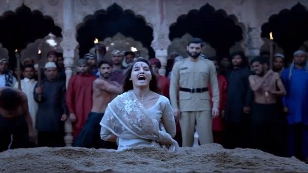 Nora Fatehi's dedication will impress you too, this blood flowing from the  head of the actress in the film Bhuj is real - Daily India