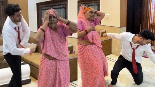'आंखों में तेरी अजब सी...' गाने पर पोते ने दादी से साथ किया जबरदस्त डांस, वीडियो वायरल