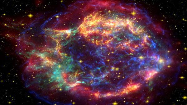 मरने वाला तारा हमारे सौर मंडल से लगभग 11,000 प्रकाश वर्ष दूर