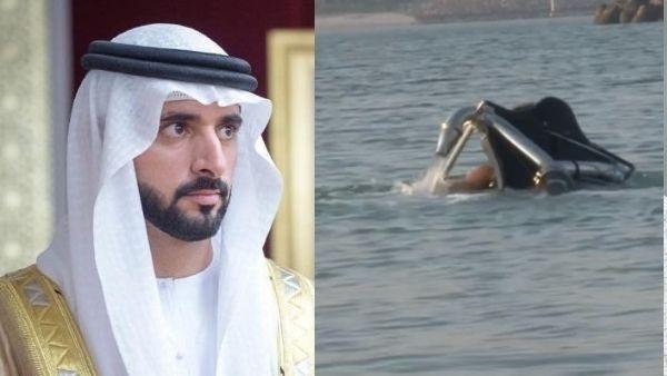 नदी में डूब रहा था दोस्त, बचाने के लिए खुद कूद गये दुबई के क्राउन प्रिंस, वायरल हुआ वीडियो