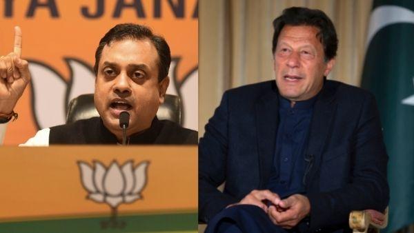 पैसे खर्च कीजिए, पाकिस्तानी प्रधानमंत्री के घर में बच्चे का बर्थडे मनाइये, इमरान खान पर बरसे संबित पात्रा