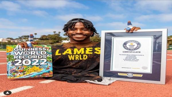 भगवान ने नहीं दिये पैर तो हाथों पर सबसे तेज 20 मीटर चलकर ज़ियोन ने रच डाला इतिहास