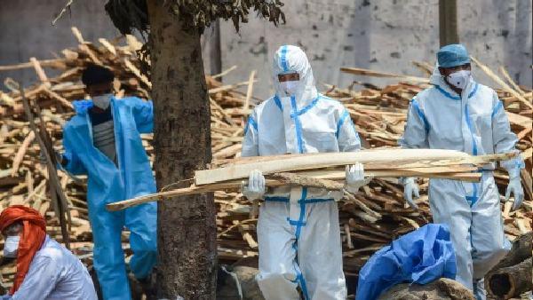 भोपाल: कोरोना से मौत के बाद 57 अस्थियों को नहीं मिले अपने, संस्था ने नर्मदा में किया विसर्जित