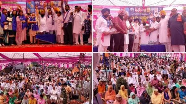 पंजाब में विधानसभा चुनाव से पहले BJP को बड़ा झटका, BSP में शामिल हुए कई भाजपा नेता और कार्यकर्ता