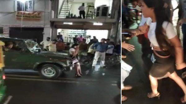 ग्वालियर में आर्मी वालों से भिड़ गई दिल्ली की मॉडल, नशे में धुत होकर किया हाई वोल्टेज ड्रामा, वीडियो