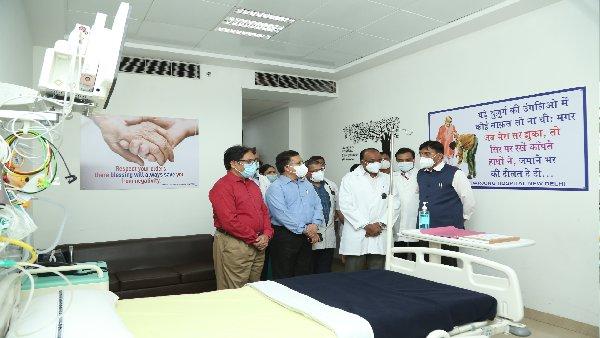 ये भी पढ़ें- हेल्थ मिनिस्टर मनसुख मंडाविया का सफदरजंग अस्पताल को तोहफा, कई सुविधाओं का किया उद्घाटन