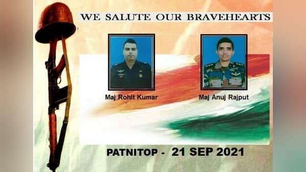 जम्मू: उधमपुर के पटनीटॉप में सेना का हेलीकॉप्टर क्रैश, दो पायलट शहीद