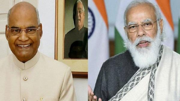 राष्ट्रपति रामनाथ कोविंद, पीएम मोदी ने गणेश चतुर्थी की देशवासियों को दी शुभकामनाएं