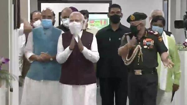 दिल्ली: पीएम नरेंद्र मोदी ने किया रक्षा मंत्रालय के नए दफ्तरों का उद्घाटन, ड्रीम प्रोजेक्ट का पहला चरण पूरा