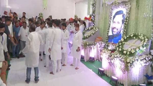 रामविलास पासवान की बरसी : खटक गया नीतीश कुमार का नहीं आना !   Bihar CM  Nitish Kumar did not attend program on death anniversary of Ram Vilas  Paswan in Patna - Hindi Oneindia