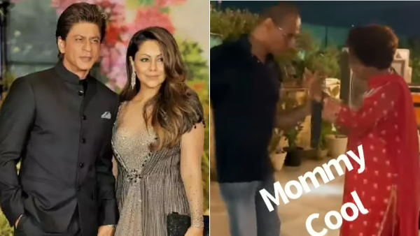 शाहरुख खान की सासु मां ने पार्टी में किया जबरदस्त डांस, वीडियो वायरल