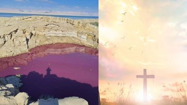 खून की तरह लाल हुआ 'मृत सागर' का पानी, डरे लोगों ने कहा- क्या पाप के विनाश के लिए आ रहा है कोई फरिश्ता?