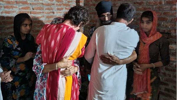 यह भी पढ़ें-'अंत तक, अंजाम तक', न्याय के लिए लड़ूंगी, लखीमपुर हिंसा के पीड़ित परिवारों से मुलाकात के बाद बोलीं प्रियंका