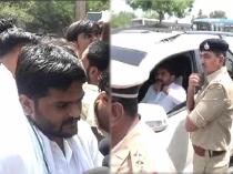 Surat Fire Tragedy Hardik Patel Held By Police Before Stri