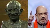 Mahatma Gandhi Statue Removed At Ahmedabad Circle For Bridge
