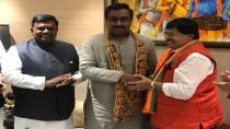 Tdp Senior Leader Ambika Krishna Joins Bjp