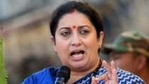 Smriti Irani Close Her Helicopter Gate To Avoid Unnao And Onion Price Hike Question