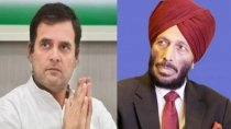 Congress Mp Rahul Gandhi Milkha Singh Inspiration For Millions Of Indians