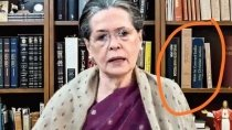 Fact Check Book On Conversion On Sonia Gandhi S Shelf Know Reality Of This Viral Photo