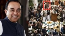 Fact Check Subramanian Swamy Did Not Attend The Opposition Press Conference