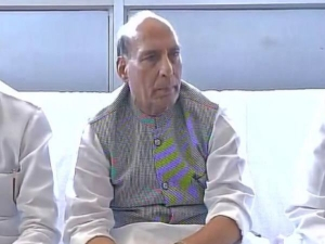 गृहमंत्री राजनाथ सिंह बोले- विकास से बौखलाए हैं नक्सली, सुकमा हमला हमारे लिए है चुनौती