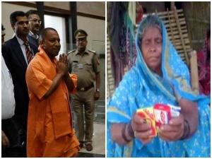 मुख्यमंत्री योगी से मिलते वक्त बच्चों के पास से आए खुशबू, इसलिए दिए साबुन-शैम्पू